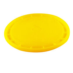Leaktite  Yellow  5 gal. Plastic  Bucket Lid