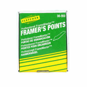 Fletcher  Professional FrameMaster  Framer's Points  Repairing or reglazing windows  0 oz. 3000 pk