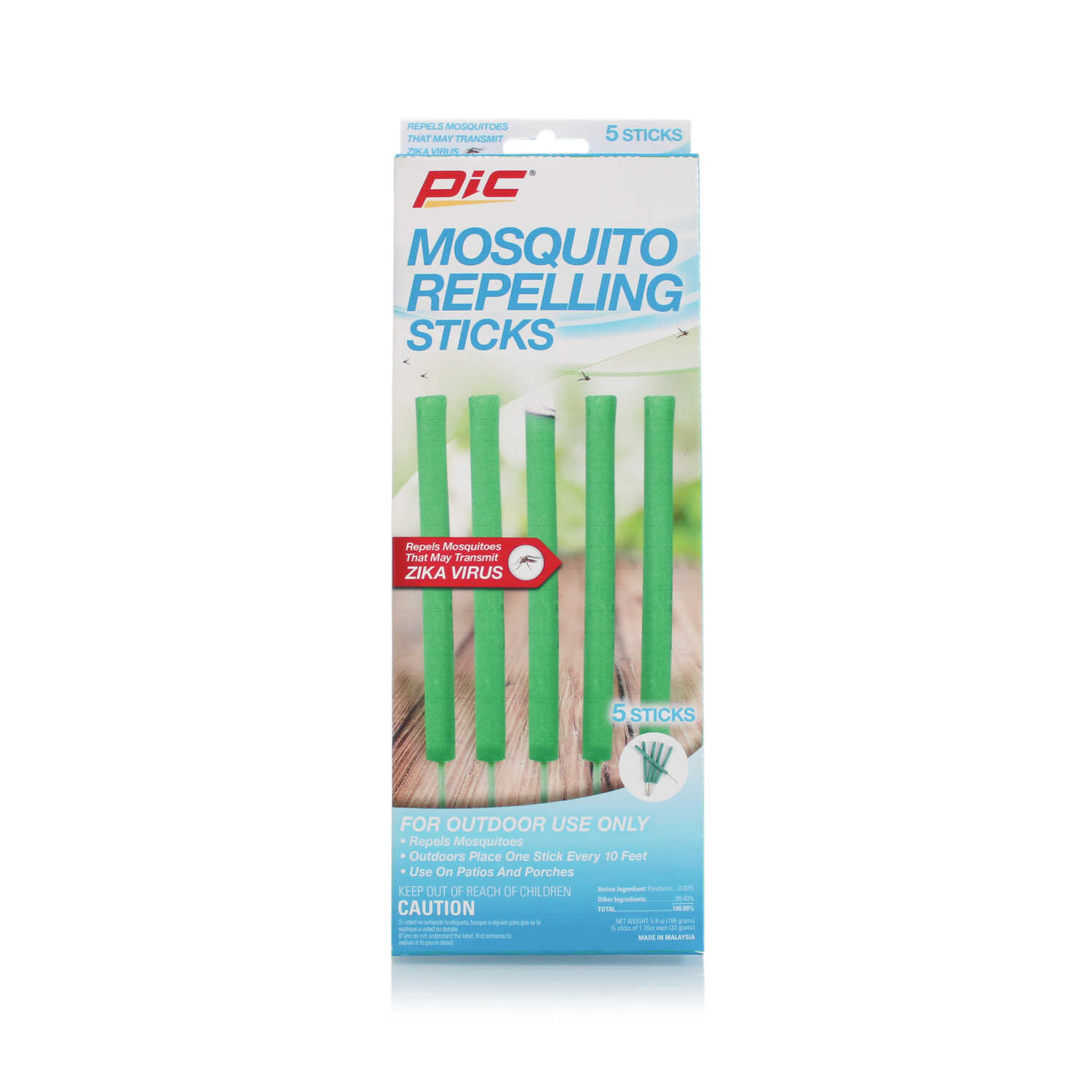 PIC  Insect Repellent  For Mosquitoes 5 pc.
