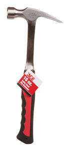 Ace  16 oz. Rip Claw Hammer  Steel Handle  13-1/2 in. L