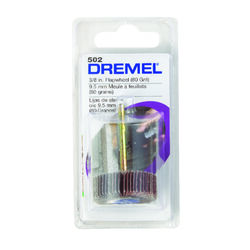 Dremel  3/8 in. Dia. Emery  Flap Wheel Sander  80 Grit 1 pc.