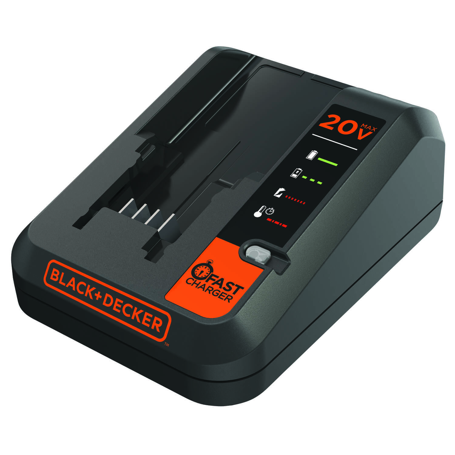 Black and Decker  20 volt Lithium-Ion  Battery Charger  1 pc.