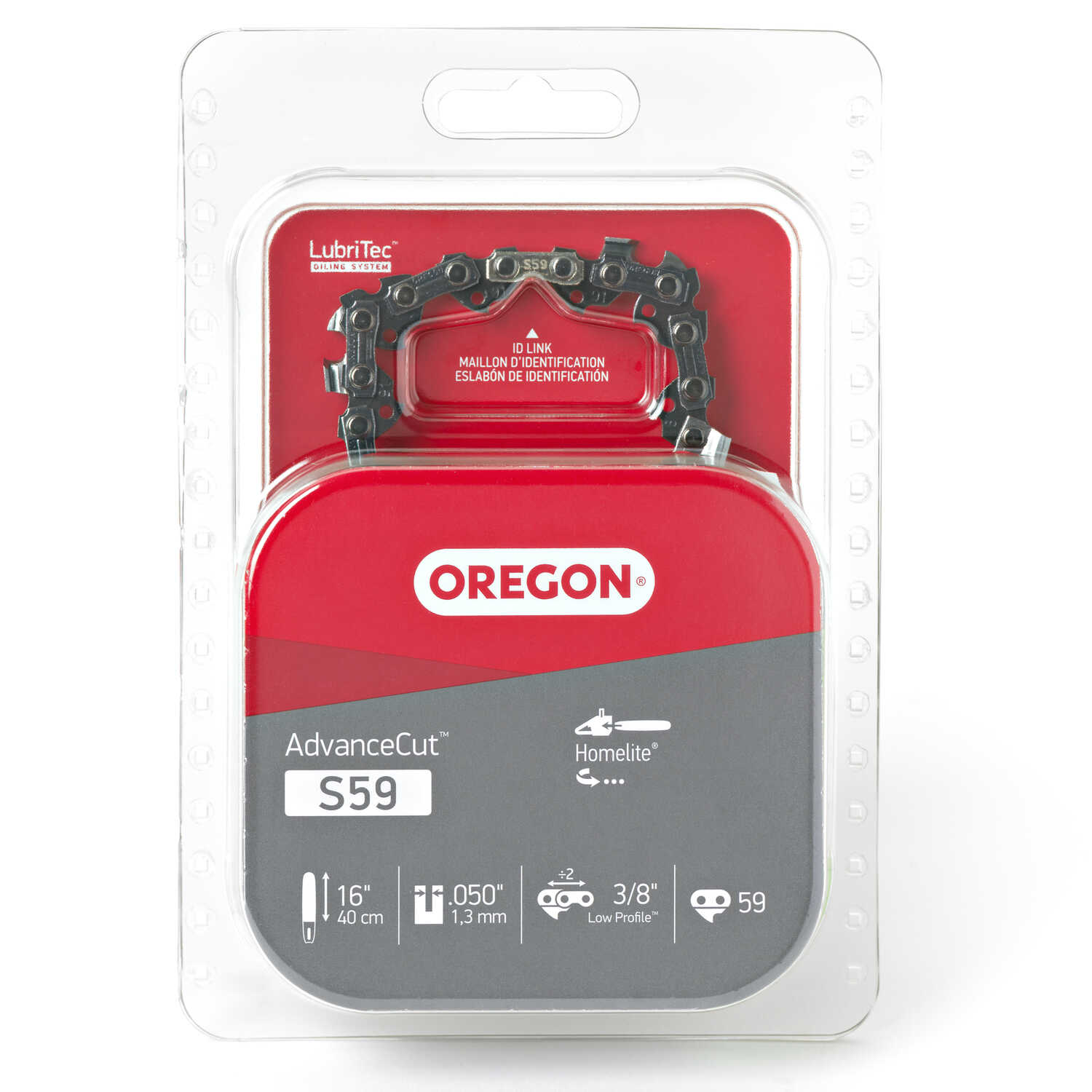 Oregon  16 in. L 59 links Chainsaw Chain