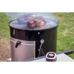 Weber Smokey Mountain Charcoal 22 In W Black Smoker Ace Hardware