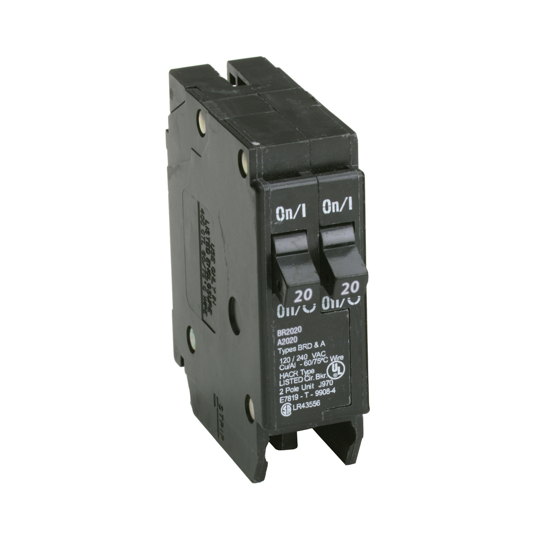 Eaton Cutler-Hammer 20/20 amps Tandem 2-Pole Circuit Breaker - Ace ...