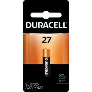 Duracell  12-Volt  12 volt Security Battery  27  1 pk Alkaline