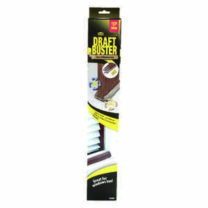 M-D Building Products  Draft Buster  Brown  Foam/Cloth  Door and Window Seal  3 ft. L x 3-11/32 in.