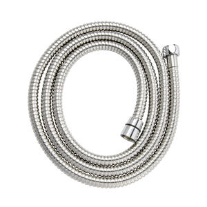Keeney  1 in. Dia. x 72 in. L Stainless Steel  Shower Hose