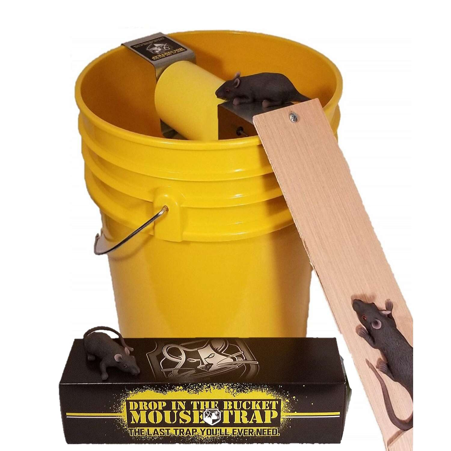 Drop In The Bucket  Medium  Multiple Catch  Animal Trap  For Mouse 1 pk