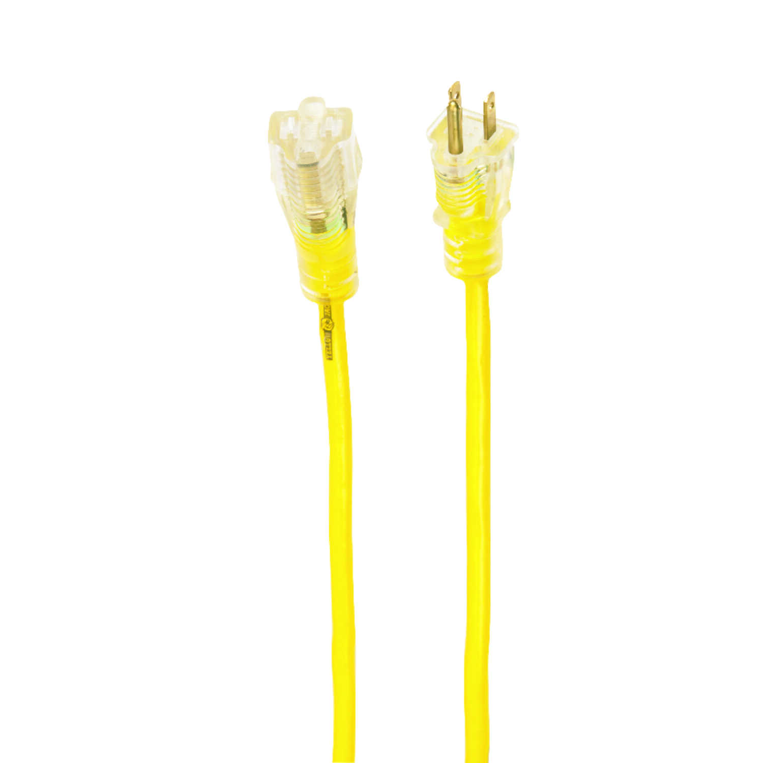 Yellow Jacket  Outdoor  50 ft. L Yellow  Extension Cord  14/3 SJTW