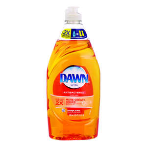 Dawn  Ultra  Orange Scent Liquid  Dish Soap  21.6 oz.