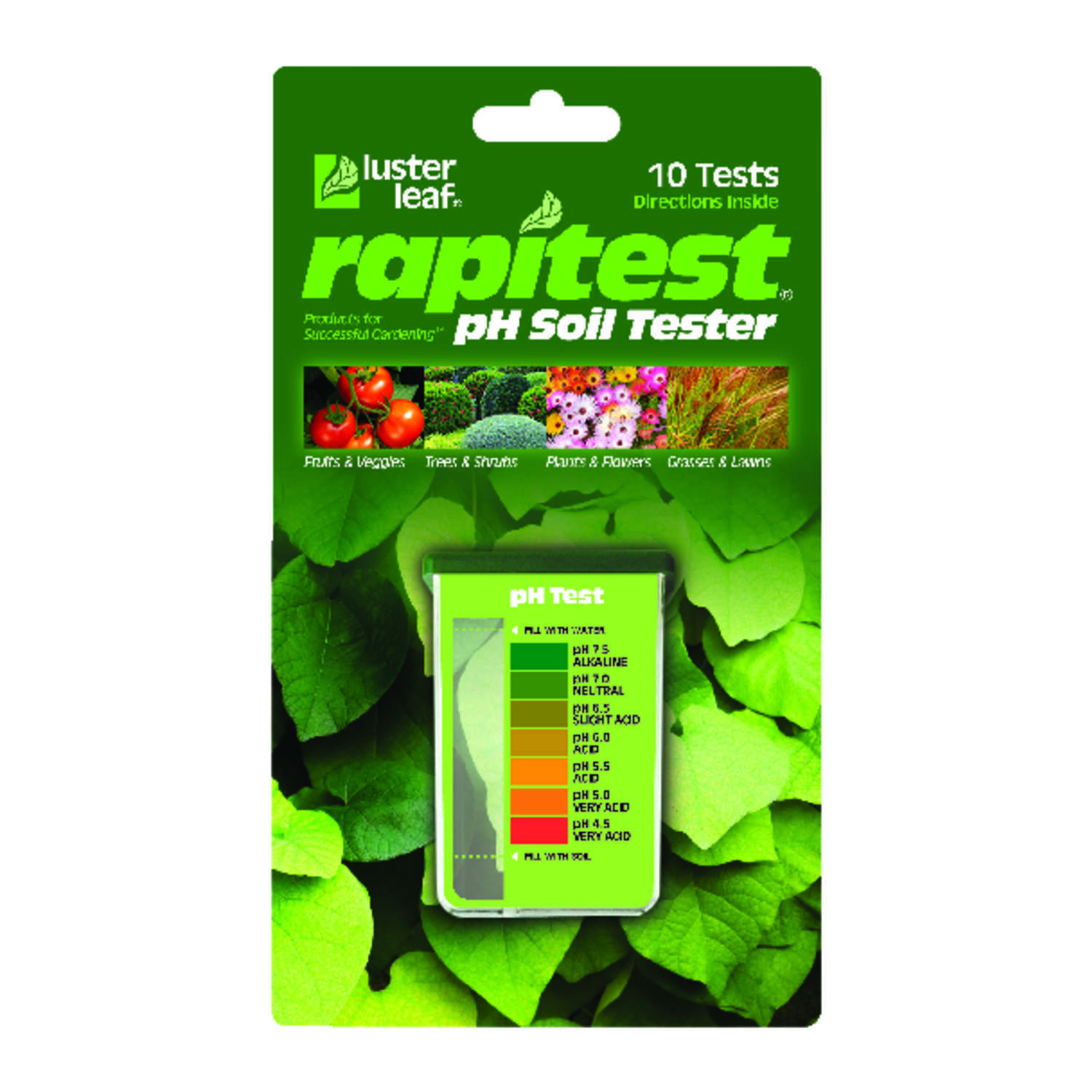 Luster Leaf Rapitest pH Soil Tester 1 pk