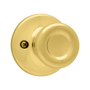 Kwikset  Tylo  Polished Brass  Steel  Dummy Knob  3 Grade Right or Left Handed