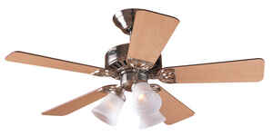 Hunter Fan  Beacon Hill  42 in. 5 blade Indoor  Brushed Nickel  Ceiling Fan