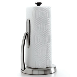 OXO  Good Grips  Stainless Steel  Freestanding  Paper Towel Holder  14 in. H x 7 in. W x 7 in. L