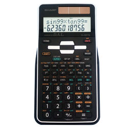 Sharp  12 digit Scientific Calculator  Black
