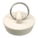 Danco  1-1/4 in. Dia. White  Rubber  Sink Stopper