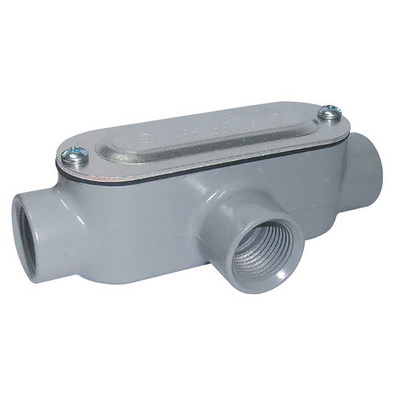 Sigma Electric ProConnex  1/2 in. Dia. Die-Cast Aluminum  Conduit Body  For Rigid/IMC 1 pk