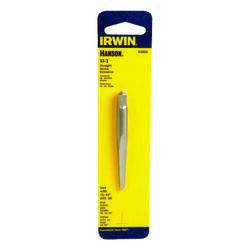 Irwin  Hanson  15/64 in.  x 15/64 in. Dia. Carbon Steel  Straight Screw Extractor  6 in. 1 pc.