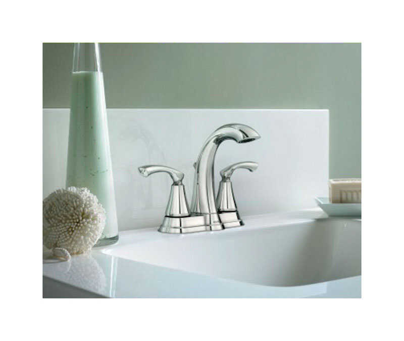 Moen  Tiffin  Chrome  Two Handle  Lavatory Faucet  four