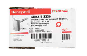 Honeywell  120 volt Fan and Limit Control