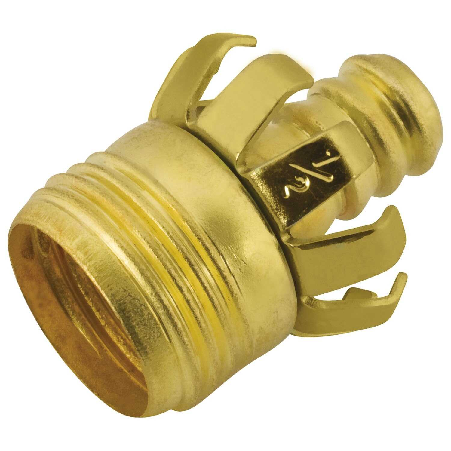 Ace  1/2 in. Metal  Threaded  Male  Clinch Hose Mender Clamp