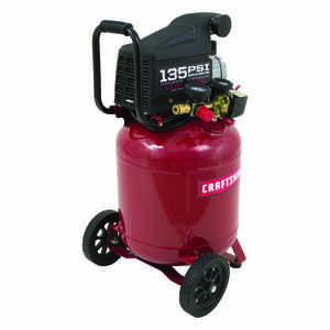 Craftsman  10 gal. Vertical  Portable Air Compressor  135 psi 1 hp