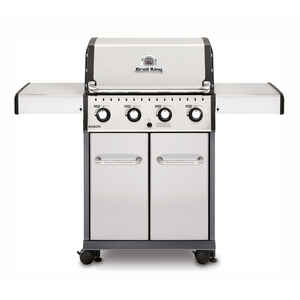 Broil King  Baron S420  4 burners Propane  Grill  Stainless Steel  40000 BTU