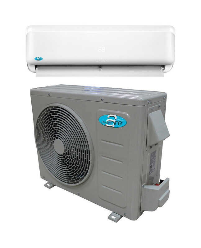 Perfect Aire 12 000 Btu 10 In 25 In 300 Sq Ft Ductless