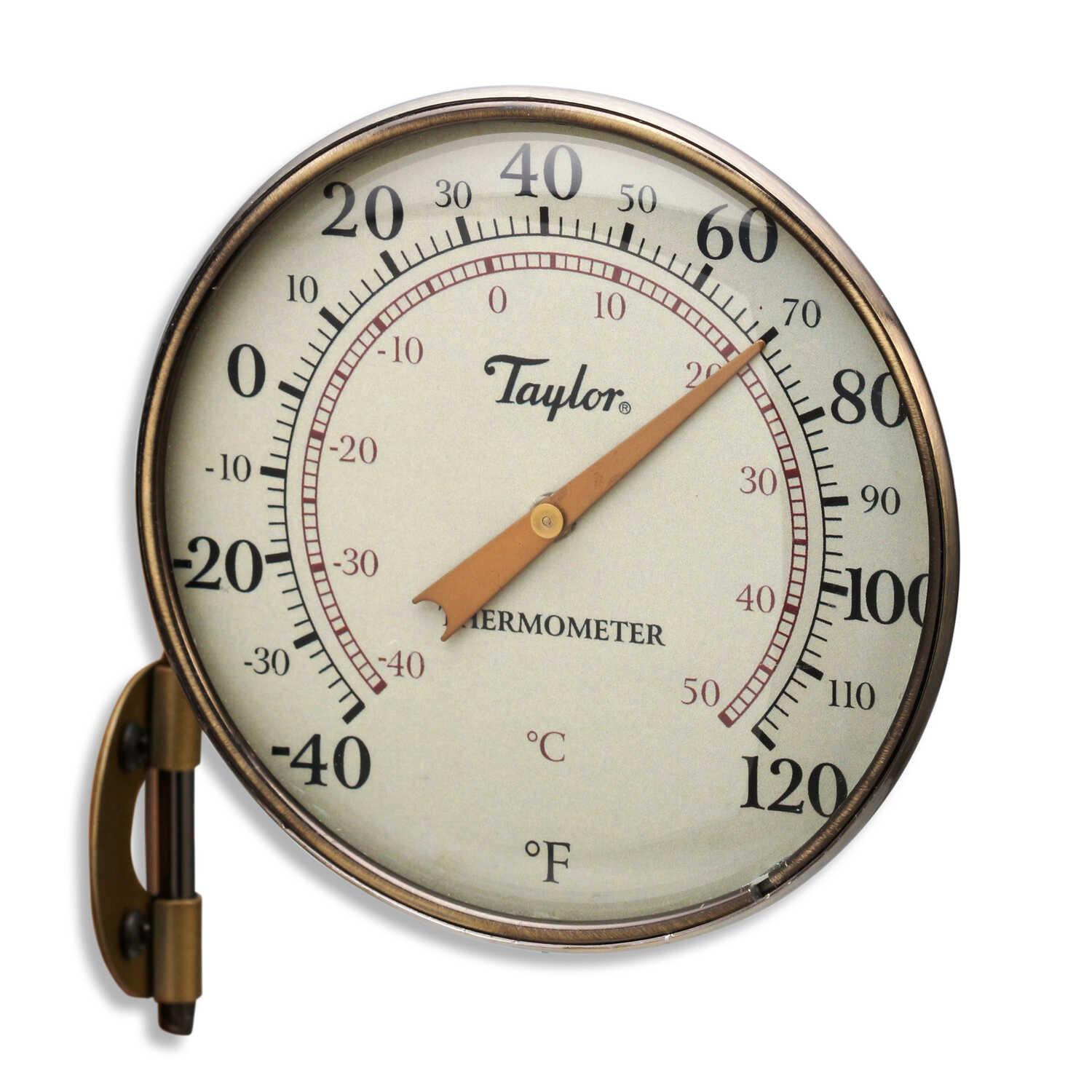 Taylor  Classic  Thermometer  Aluminum  Bronze