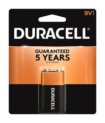 Duracell  Coppertop  9-Volt  Alkaline  Batteries  1 pk Carded