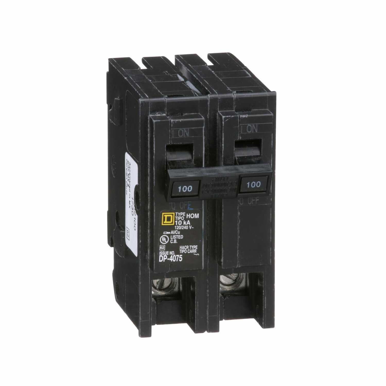 Square D Homeline 200amp Doublepole Circuit Breaker At Lowescom