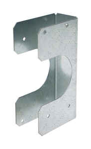 Simpson Strong-Tie  6 in. H x 1.56 in. W 16 Ga. Galvanized Steel  Stud Shoe