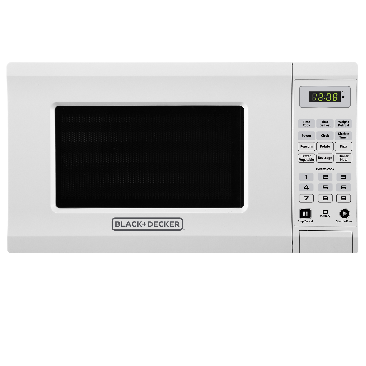 Black and Decker  0.7 cu. ft. Microwave  White  700