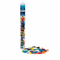 Plus-Plus Basic Mix Building Toy Plastic Multicolored 70 pc.