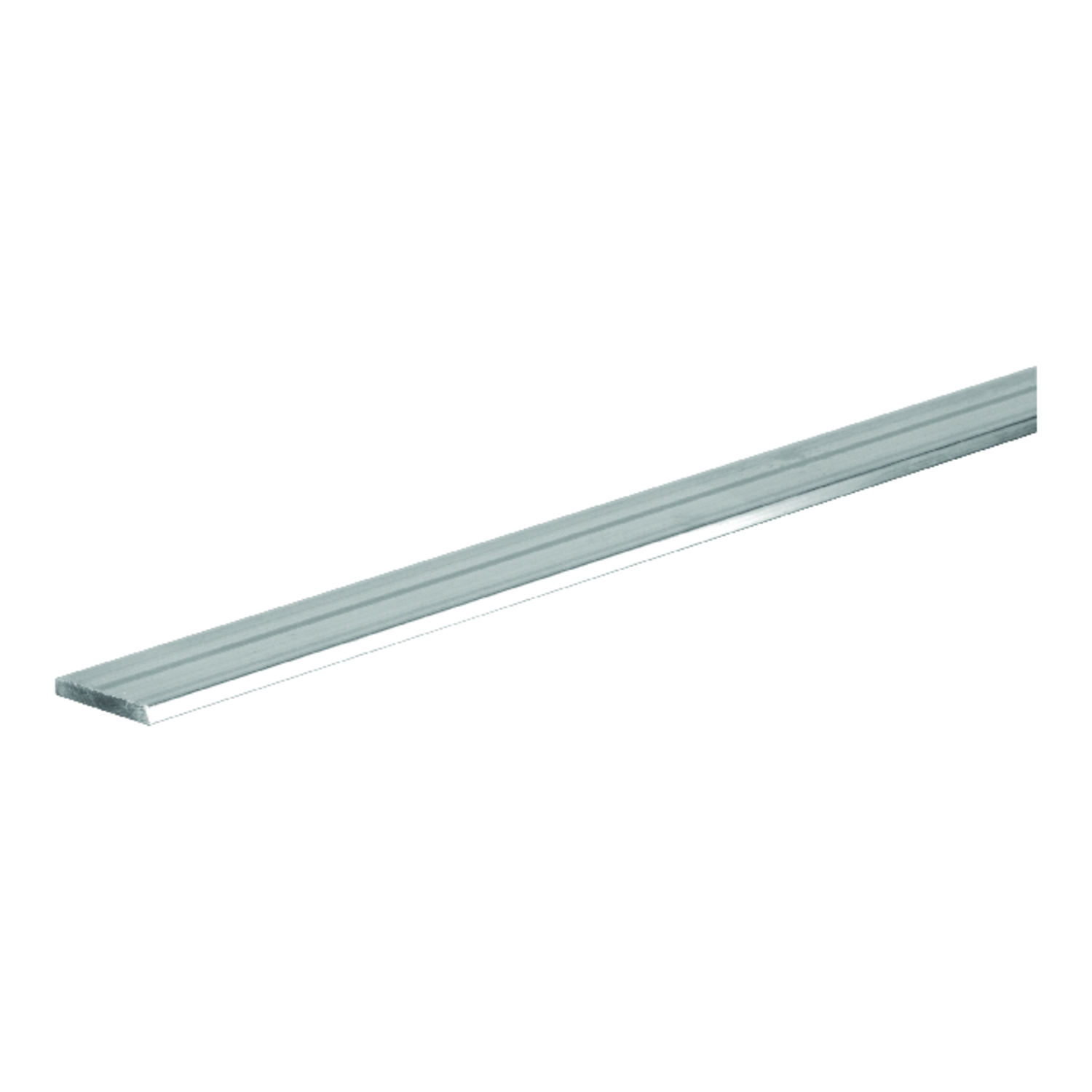 Boltmaster  0.25 in.  x 1 in. W x 4 ft. L Weldable Aluminum Flat Bar  5 pk