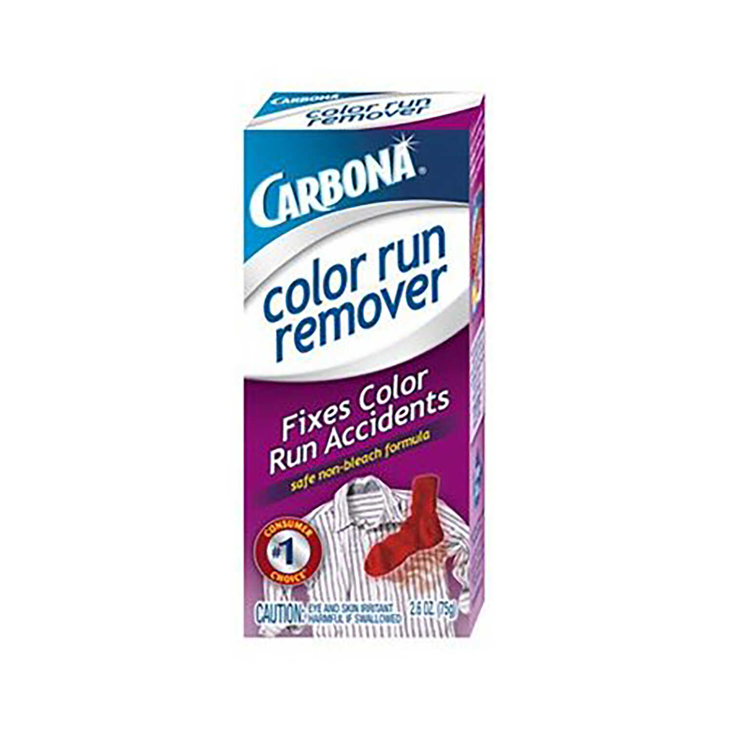 Carbona  No Scent Bleach Color Run Remover  Powder  2.6 oz.