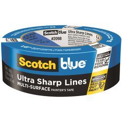 ScotchBlue  1.41 in. W x 45 yd. L Blue  Medium Strength  Painter's Tape  1 pk