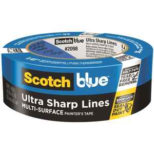 3M  Scotch BluePlatinum  1.41 in. W x 45 yd. L Blue  Medium Strength  Painter's Tape  1 pk