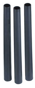 Shop-Vac  4 in. L x 2 in. W x 1.25 in. Dia. Extension Wand  Black  3 pk