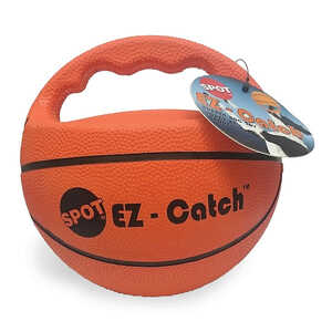 Spot  EZ-Catch  Orange  Rubber  Large  Ball Dog Toy