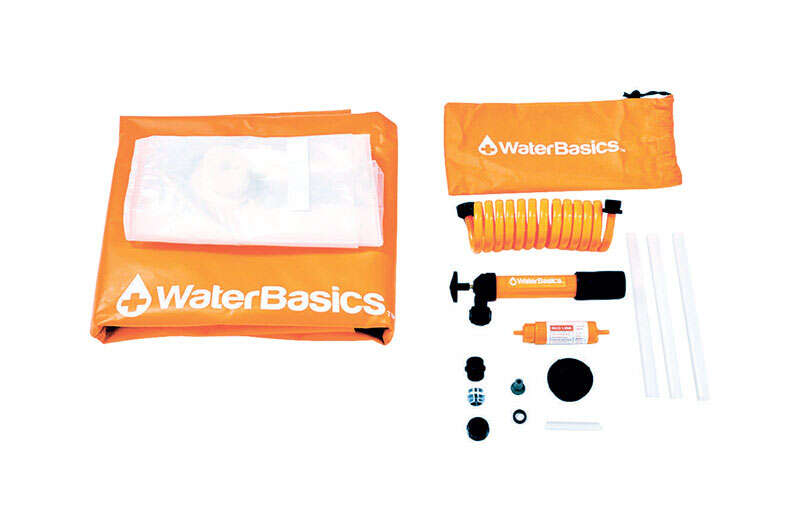 Water Basics  Aquamira  Emergency Water Storage Kit  30 gal.