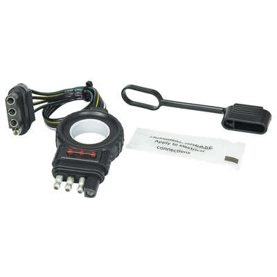 Hopkins  Endurance  4 Flat  Trailer Wiring Extension  12 in.