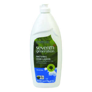 Seventh Generation  Lemon Scent Gel  Dish Soap  25 oz.