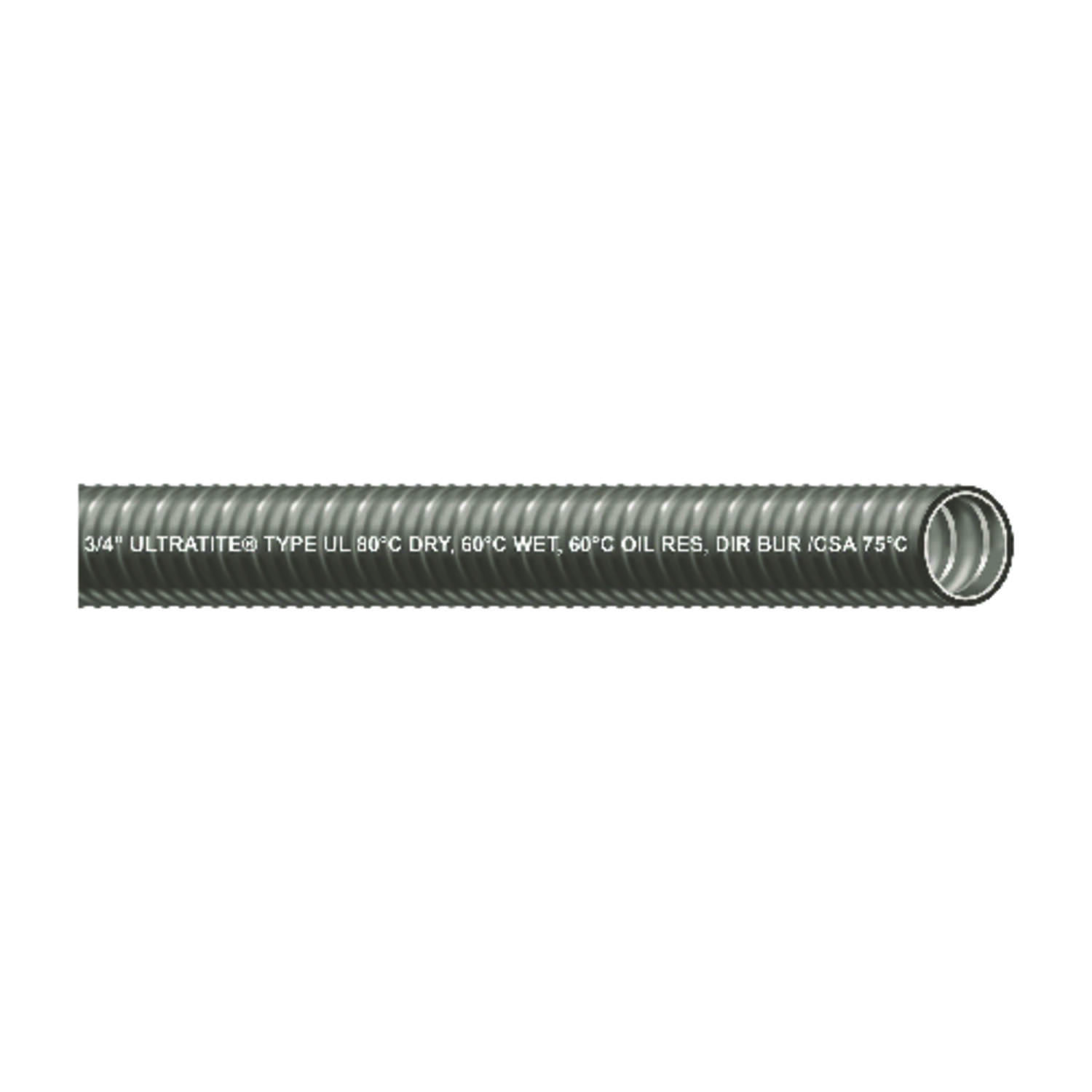 Southwire  3/4 in. Dia. x 100 ft. L Steel  Flexible Electrical Conduit  For LFMC