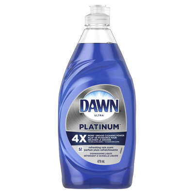 Dawn  Ultra Platinum  Refreshing Rain Scent Liquid  Dish Soap  16.2 oz. 1 pk