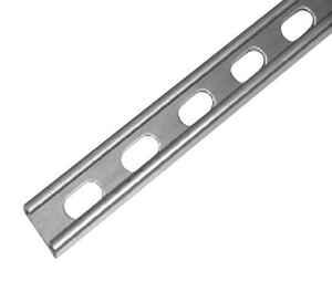 Unistrut  1-5/8 in. Dia. x 10 ft. L Zinc  For IMC Strut Channel