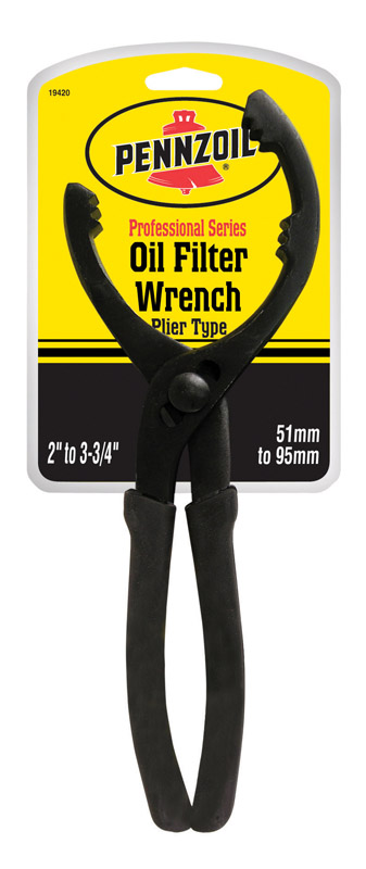 Pennzoil Professional Plier Type Oil Filter Wrench 2 in. - 3 - 3/4 in.