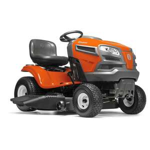 Husqvarna  42 in. W 600 cc Mulching Capability Riding  Lawn Tractor