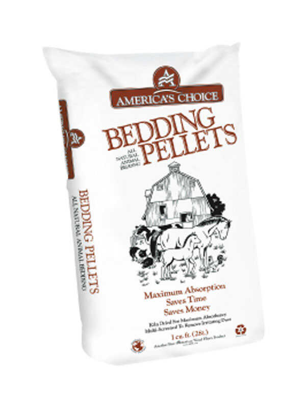 America's Choice  Equine Pellets  Wood  Animal Bedding